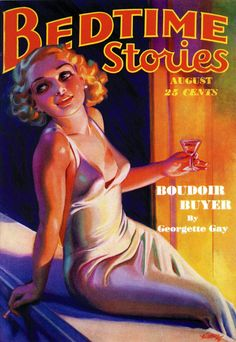 Bedtime Stories: 'Boudoir Buyer'.