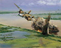 B-25 Mitchell River Attack