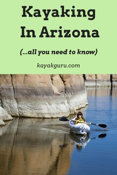 Kayak Camping Trips Guide To Kayaking In Arizona. Travel - With plenty of lakes and rivers, including the famous Colorado River, there are lots of options for kayaking in Arizona. So where are the best places? Kayak Camping, Kayak Fishing, Saltwater Fishing, Fishing Tips, Ice Fishing, Trout Fishing, Bikini Fishing, Camping List, Fishing Stuff
