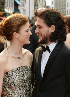 Kit Harington And Rose Leslie Make Their First Red Carpet Appearance As A Couple
