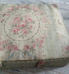 French Fabric Box FleaingFrance Brocante Society