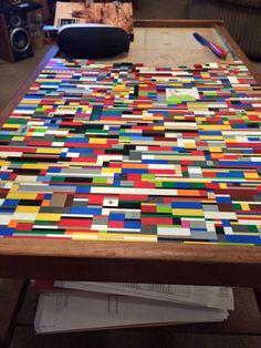 lego table pinterest lego paint furniture and tile top tables. Black Bedroom Furniture Sets. Home Design Ideas