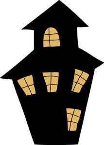 274 best cards halloween houses trees fences images holidays rh pinterest com