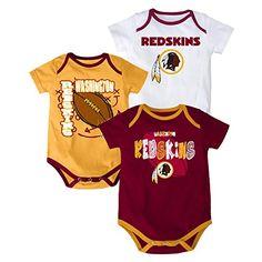 Washington Redskins Baby Creeper