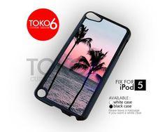 AJ 1079 California sunset beach - ipod 5 Case | toko6 - Accessories on ArtFire