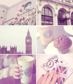 Someday, this will be me drinking Starbucks and eating a cupcake in London. (I had Starbucks for the first time in London! Starbucks London, Starbucks Coffee, Starbucks Order, Drink Coffee, Big Ben, What A Nice Day, Independent Girls, British Things, Journey