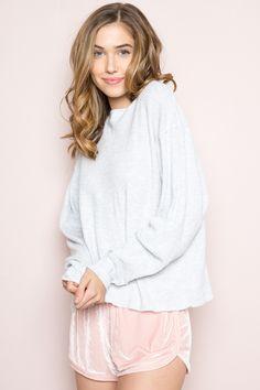 Brandy ♥ Melville | Lisette Velvet Shorts - Bottoms - Clothing
