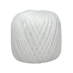 Coton Cablé n°5 Blanc - Distrifil - Pelote de laine