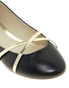 Enlarge ASOS LAUGH Ballet Flats