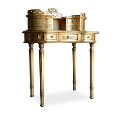 Adelle Desk Gold by Fabulous & Baroque