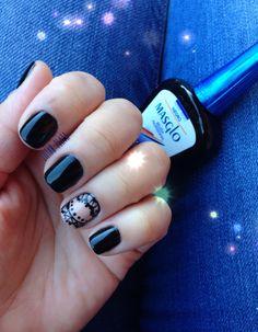 Black#nails# MASGLO