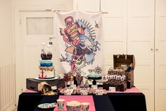 Pirate Party Guest Dessert Feature   Amy Atlas Events