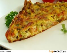 Sekaná z cukety Lasagna, Quiche, Breakfast, Ethnic Recipes, Food, Lasagne, Breakfast Cafe, Essen, Quiches