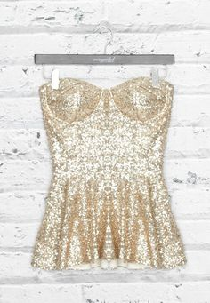 peplum, sequins, and bustier, oh my!