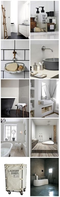 white life ©: Are you also looking for special bathroom inspirations?