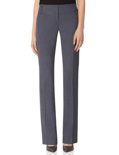 A good mid-rise, flat front pant that creases sharply and doesn't taper at the bottom is a workplace essential. Get it in black, sure, but charcoal and chocolate are highly underrated as neutrals go.