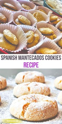 Leche frita pinterest spanish desserts spanish and street food learn the basic and easiest way to make traditional spanish mantecados cookies forumfinder Images