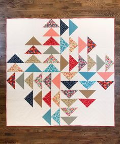 Fancy Tiger Crafts: New Fancy Pattern: Four Winds Quilt!