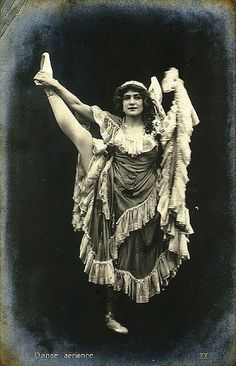 Danse Aérienne, Circa Late 19th Century, Paris, France by The Nite Tripper, via Flickr