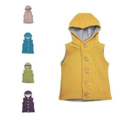 Boilet wool Kids vest by CaciuliBEBE on Etsy Boiled Wool Jacket, Wool Vest, Kids Vest, Primary Colors, Lana, My Etsy Shop, Trending Outfits, Jackets, Fur