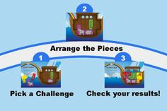 Amazon.com : Noah's Ark Magnetic Travel Game : Bible Toys For Kids : Toys & Games
