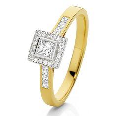 Diamond engagement ring -   www.loloma.com.au