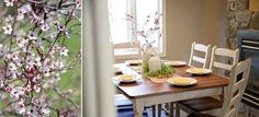 Enjoy spring's sweet simplicity with Peaceful Valley Furniture's Extension Table #handcrafted #lancaster