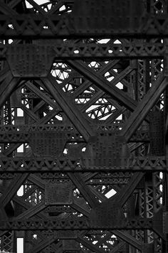 texture and pattern Tour Eiffel, Texture Metal, Gates, Foto Art, Beautiful Textures, Shades Of Black, Color Negra, Amazing Architecture, Black Is Beautiful