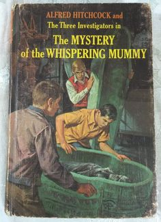 Alfred Hitchcock The Three Investigators Mystery of Whispering Mummy #3 HC