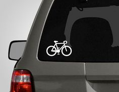 ►------------------------DESCRIPTION------------------------◄    Represent your love for bicycling with this vinyl decal  brought to you by The Decal
