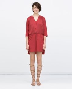 Image 1 of COMBINED TUNIC from Zara