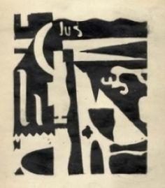 """Julius Evola, """"Composizione,"""" c. 1920"""