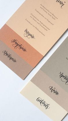 Elegant Wedding Invitations, Wedding Menu, Wedding Stationary, Wedding Cards, Wedding Branding, Menu Card Design, Business Card Design, Thank You Card Design, Invitation Cards