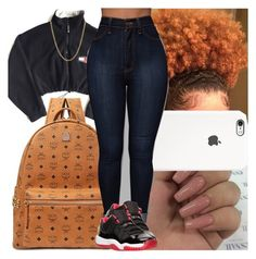 """Back2school #12"" by msixo ❤ liked on Polyvore featuring MCM, Lord & Taylor and Retrò"