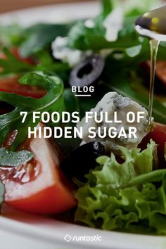 It's not just sweet foods that have sugar...