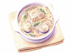 Colored Pencil Drawings of Japanese Food (Vol.01) - Colored Pencil Drawings of Japanese Cuisine and Foods 24