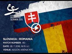SLOVAKIA : ROMANIA Bratislava, World Championship, Romania, Youth, Handball, World Cup, Young Adults, Teenagers