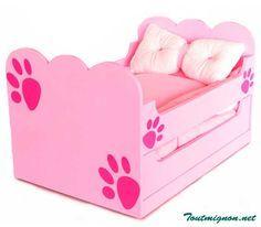 cama para perros. Muebles para mascotas. www.toutmignon.net