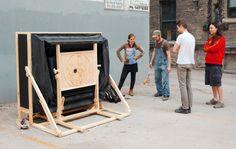 Apparatus 2 – Press Camera Obscura - Andrew John Milne