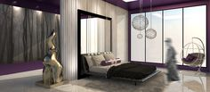#interiordesign #hostelproject #bedroom #architecture #sketchup #rendering #kmutt #soa+d #space