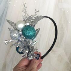 Christmas party headband, christmas headband adult, christmas headband women, holiday party headband, tacky sweater party, headband