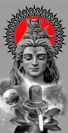 Lord Shiva Statue, Lord Shiva Pics, Lord Shiva Hd Wallpaper, Lord Vishnu Wallpapers, Lord Shiva Sketch, Mahadev Tattoo, Happy Birthday Calligraphy, Shiva Tattoo Design, Shiva Shankar