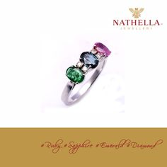 Sapphires, Rubies, and Emeralds are the most desirable precious gemstones, and are commonly used in fine jewelry. The beauty and sparkle of ‪#‎Diamonds‬ or the rich red color of #Ruby or intense green of the #Emerald which symbolizes spring and rebirth or the ‪#‎BlueSapphire‬ the most sought after and valuable gemstone form the 4 most popular and precious gemstones used in Jewelry.