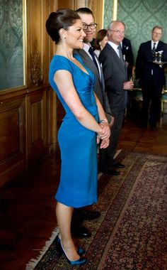 Crown Princess Victoria, Prince Daniel  and a special look from the King of Sweden....