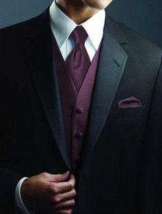 Black or Brown Suits with Brown Bridesmaid Dresses? Wedding Men, Wedding Suits, Dream Wedding, Tuxes For Weddings, Men Wedding Attire, Wedding Ideas, Black Suit Wedding, Brown Suits, Black Suits