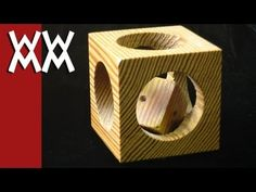 Mystery Cube-in-a-Cube Puzzle Woodworking Project