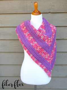 Free Crochet Pattern...Tulip Patch Shawl!