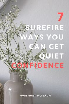 Do you want to have high esteem and be more confident? Here're 7 surefire ways you can do just that. #confidence#quietconfidence #personalgrowth#personaldevelopment #motivation