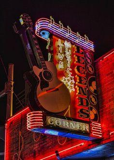 "Check out my art piece ""Legends Corner Nashville"" on crated.com"
