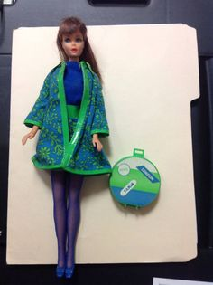 VINTAGE BARBIE SEARS EXCLUSIVE TRAVEL IN STYLE OUTFIT TNT BRUNETTE 1544 LOT 5